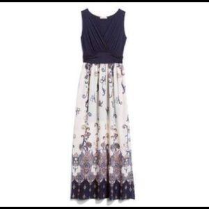 Stitch Fix Gilli Shay 2fer Paisley Maxi Dress M